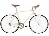 Brand new Hackney Club single speed fixed gear fixie bike/ road bike/ bicycles + 1year warranty dd4e