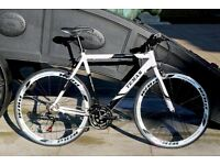 Brand New TEMAN PRO-3.0 aluminium 21 speed hybrid road bike + 1 year warranty jjkhq1
