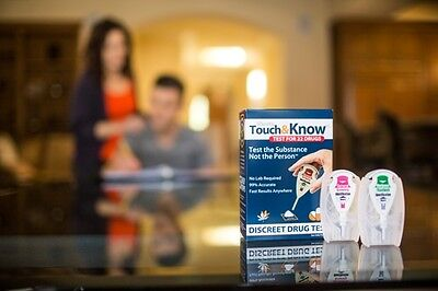 IDenta Touch & Know Discreet Home Drug Test For 22 Drugs Exp 08/2018 Pot Heroine