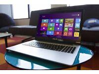 "Brand New Aluminium Asus K56CA Laptop 15.6"" , 1000GB HDD, Core i5, 6GB Ram,DVDRW Windows 10"