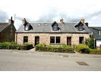 Strathardle & Strathardle Cottage in Maryburgh offered jointly for sale.