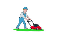 Need your grass cut? Call Paul!