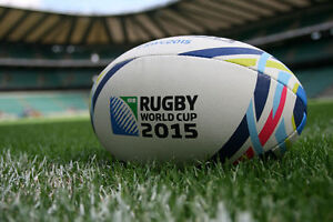 Gilbert 2015 Rugby World Cup England Replica Rugby Ball