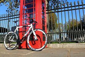 Brand New TEMAN PRO-3.0 aluminium 21 speed hybrid road bike + 1 year warranty R5F7