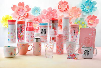 Starbucks Japan sakura 2018 Gift card Stainless tumbler Double wall bottle Mug