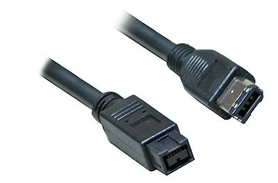 Firewire 800 to 400 9 Pin to 6 Pin Lead Cable IEEE1394B...