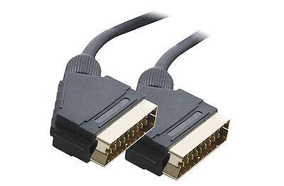 0.5M Euroconector A Conector Adaptador Cable 21 Pines Cableado Completo Oro 50CM