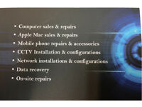 Laptops, Mac, phones and tablets repair services