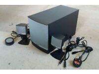 bose companion 3. bose companion® 3 series ii speaker system - good working order companion