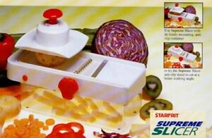Starfrit Supreme Vegetable Slicer