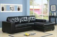LARGE SECTIONAL FABRIC OR LEATHER