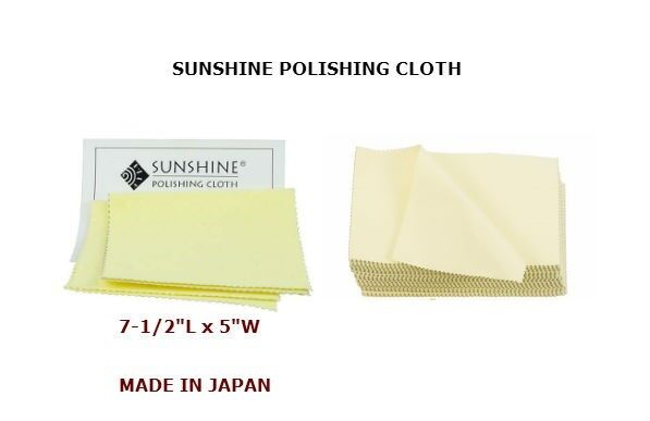 10x Jewelry Cleaning Cloth Sunshine,gold And Silver Polis...
