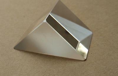 2pc 25mm Optical Triple Prism Right Triangle Physics Education Light Refraction