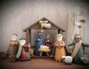 Willow Tree Nativity Set, Nativity Figurines, Nativity Figure, Christmas