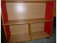 Fantastic condition solid wooden book house storage unit