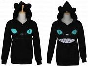 Cat Ear Hoodie Black