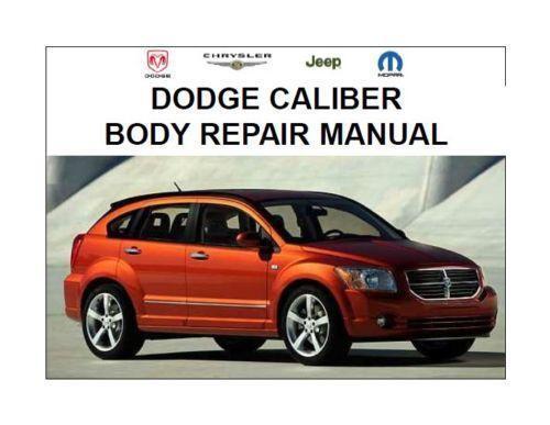 Dodge caliber workshop & owners manual   free download.