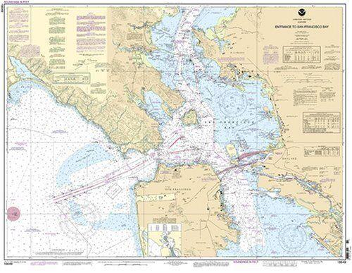NOAA Chart Entrance to San Francisco Bay 68th Edition 18649