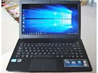 ASUS X401A laptop 500gb hd intel i3- 2nd generation processor with webcam and HDMI built-in