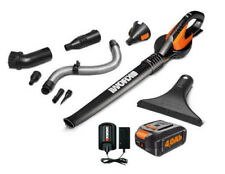 WORX WG545.4 AIR 20V PowerShare Lightweight Cordless with Attachments and Bag