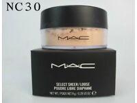 MAC sheer/loose powder