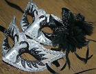 Plastic Venetian Costume Masks
