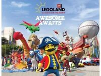 2 X Legoland Tickets - 22/09/2018