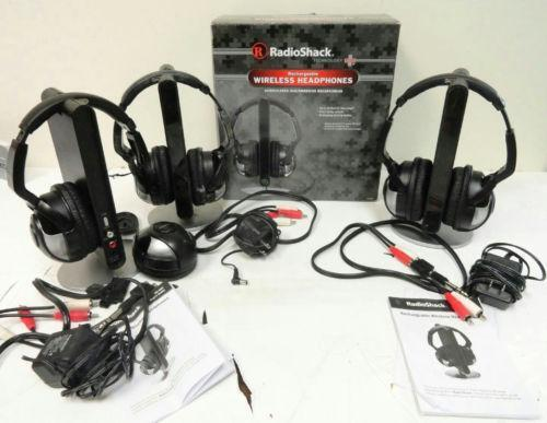 Wireless Stereo Headphones with Docking Station – RadioShack |Radioshack Wireless Headphones