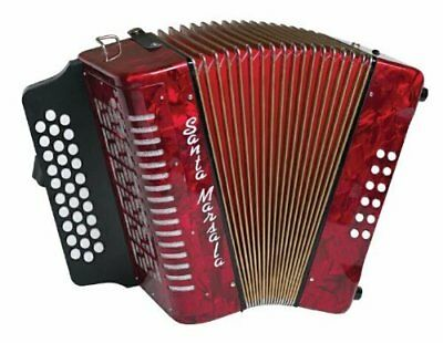 Santa Marsala 3807 Diatonic Accordion with Case
