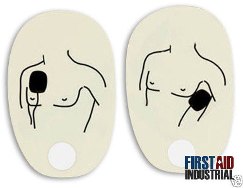 American Red Cross AED Trainer Replacement Pads - Adult 321298 Single Set