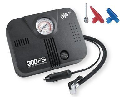 Portable Car Air Compressor Heavy Duty Inflator Tire Pump 12V 300 PSI AAA New