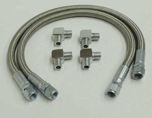 Braided Coolant Lines : Braided transmission lines ebay