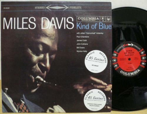 Miles Davis Kind Of Blue Vinyl Ebay