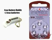 Rayovac Hearing Aid Batteries 312