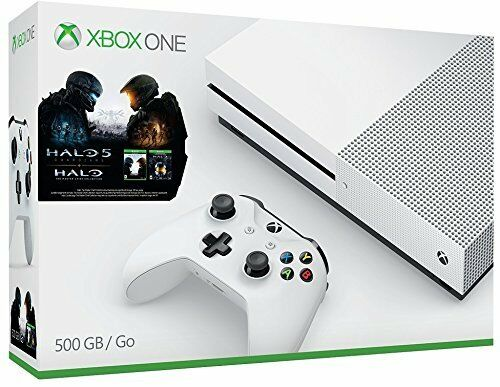 Microsoft Xbox One S 500GB Console Halo Collection Bundle Brand NEW
