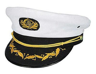 Navy Captain Costume (Navy Admiral Ship Captain Yacht Skipper Sailor Nautical Costume)