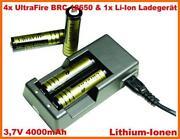 UltraFire Ladegerät