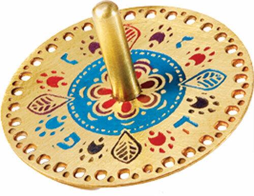 Hanukkah Dreidel - Oriental Design - Chanukah - Made in Israel
