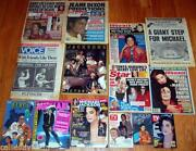 Michael Jackson Magazine Lot