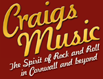 CRAIGS MUSIC LTD. Tel:(01208) 77744