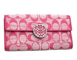 coach wallets for women outlet azgf  coach wallet pink coach wallet pink