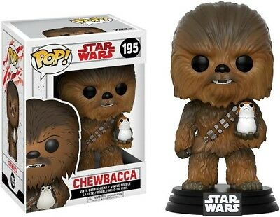 FUNKO POP! STAR WARS: The Last Jedi - Chewbacca [New Toy] Vinyl Figure