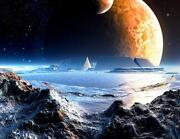 Fototapete Mond
