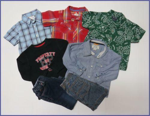 You can find boys 3T new clothes for a fraction of their retail price. This means that your hard-earned money goes further, even when you need to purchase more than one 3T boys clothes lot. You can find the jeans, sweatshirts, and designer tees that you love, and fast, reliable shipping options ensure that you can have the toddler boys 3T.
