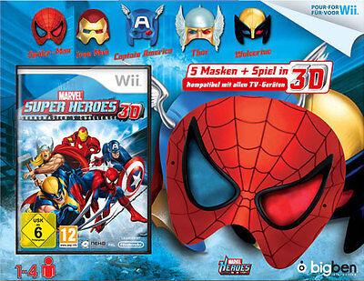 arvel Super Heroes Grandmaster Chall+5 3D-Superhelden Masken (Superhelden-masken)