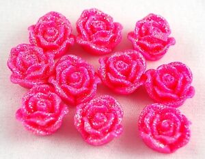 Flower Mix Resin Flatbacks Scrapbooking Cabochons