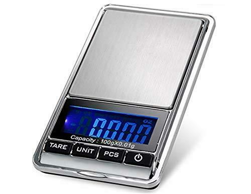 TBBSC Jewelry Scale,Reloading Weighing, High, Precision Digital Pocket Scale