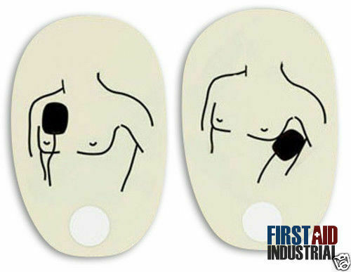 American Red Cross AED Trainer Replacement Pads - Adult - 6 Pack 321315