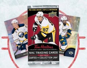 2018-19 Tim Hortons Hockey Cards