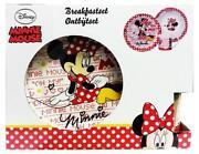 Minnie Mouse Plate Set